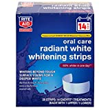 Rite Aid Oral Care Radiant White Whitening Strips - 28 ct