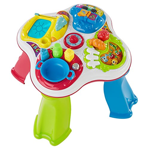 Chicco - Tisch-Hobbies First Activities, zweisprachiger Multijuego Electronic