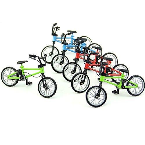 Autone - Mini mountain bike BMX da dito, perfettamente funzionante, gioco creativo, 1 pezzo