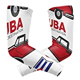 gugululu UV Protection Cooling Manches De Bras for Men Women Kids Long Tattoo Arm Cover Cuba Flag Retro Car Cabriolet Sun Protection Sunblock Cooler Baseball Protective Gloves Sunscreen