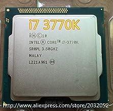 Cailiaoxindong Core i7-3770K i7 3770K 3.5Ghz/8MB 4 cores Socket 1155/5 GT/s DMI Desktop CPU