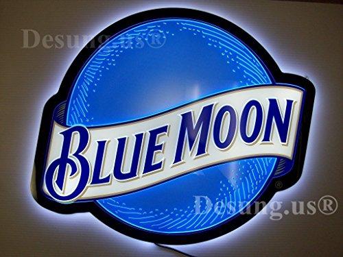 neon beer signs blue moon - 8