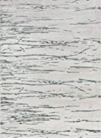 Momeni Matrix Polyester Area Rug, 2ft X 3ft, Grey 商品カテゴリー: ラグ カーペット [並行輸入品]