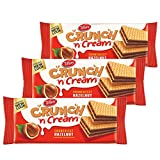 Tiffany Crunch n Cream Wafers (Hazelnut, 150GM, Pack of 3)