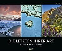 Bedrohte Naturparadiese 2022: Grosser Wandkalender mit spektakulaeren Naturaufnahmen. PhotoArt Kalender. Querformat: 55 x 45,5 cm
