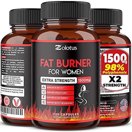 Fat Burner for Women, The Best Natural Weight Loss Pills for Women and...