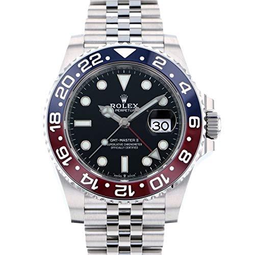ロレックス ROLEX GMTマスター II 126710BLRO ブラック文字盤 新品 腕時計 メンズ (W199309) [並行輸入品]