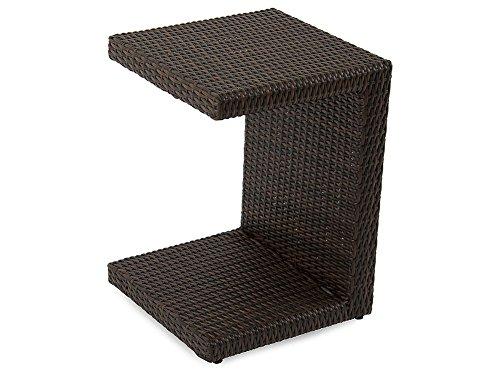 Dajar Beistelltische Tisch Bruno, Wenge, braun