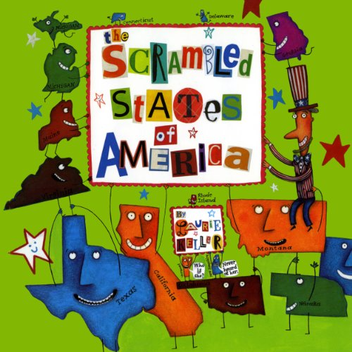 The Scrambled States Of America audiobook cover art