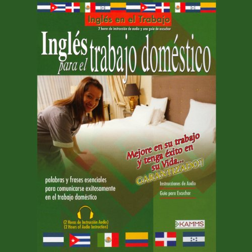Ingles Para El Trabajo Domestico (Texto Completo) [English for Housekeeping] audiobook cover art