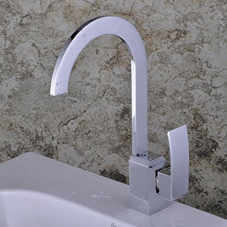 Lalaky Waschtischarmaturen Wasserhahn Waschbecken Spültisch Küchenarmatur Spültischarmatur Spülbecken Mischbatterie Waschtischarmatur Kupferchromschlüssel