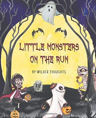 Little Monsters on the Run: an interactive Halloween kids book
