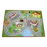 BBJunior 16-85007 Ferrari Junior City Playmat - Alfombra de Juegos con Coche de Juguete, Multicolor