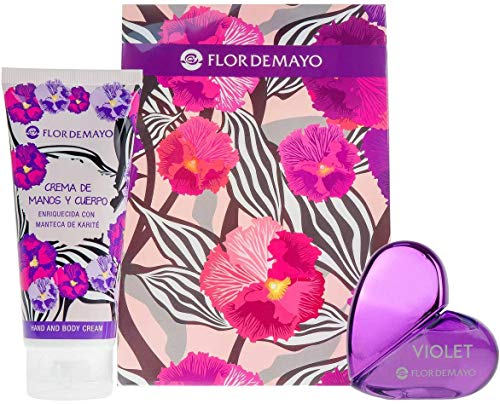 Flor de Mayo, Set de fragancias para mujeres (Cristal Purple