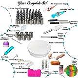Zoom IMG-1 lavcus set decorazioni torte pasticceria