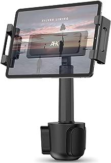 Car Cup Holder Tablet Mount, AHK Universal Tablet & Smartphone Car Cradle Holder for iPad Pro/Air/Mini, Kindle,Tablets Nin...
