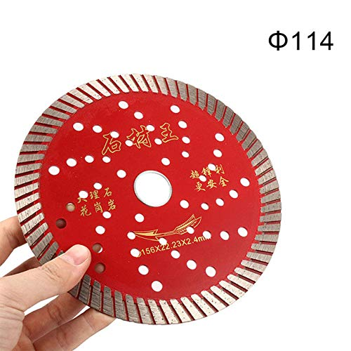 Xucus 'The Best' Diamond Saw Blades Cutting Granite Circular Concrete Tile Stone Carbide 889 - (Color: 114mm)