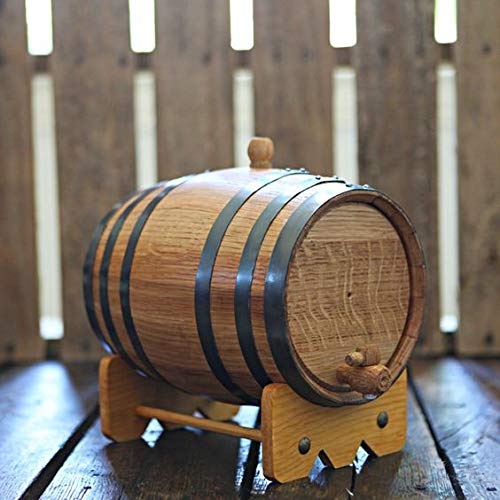 Sofia's Findings 5 Liters-American Oak Aging Barrel   Age Your own Tequila, Whiskey, Rum, Bourbon, Wine - 5 Liter or 1.32 Gallons