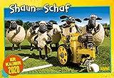 Shaun das Schaf 2020 - Broschürenkalender - Kinder-Kalender - mit Schulferienterminen und Stundenplänen - Format 42 x 29 cm