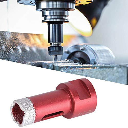 Hole Saw Sharpened Durable Diamond Drill Bit Labor-Saving Grit Hole Saw for Marble(Angle Grinder Hole Opener 20mm)