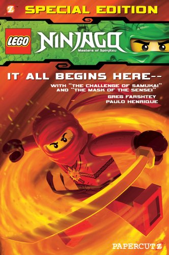 """Lego Ninjago Special Edition #1: With """"The Challenge of Samukai"""" and """"Mask of the Sensei"""""""