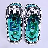 HYE-SPORT Reflexzonenmassage Fußmassagegeräte, Rollenmassagegerät für Plantarfasziitis Akupressurmassage Hausschuhe Schuhe Sandalen Matte für Männer Frauen, Relief Plantarfasziitis