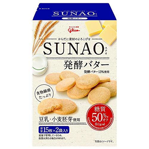 グリコ SUNAO(スナオ) 発酵バター 62g×5箱入×(2ケース)
