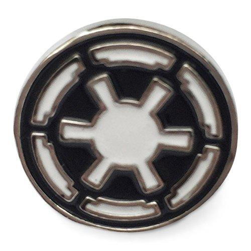 Orion Creations Star Wars Film inspirierte Schmuck. Silber Ton Kaiserreich Pin/Brosche. Imperial Empire