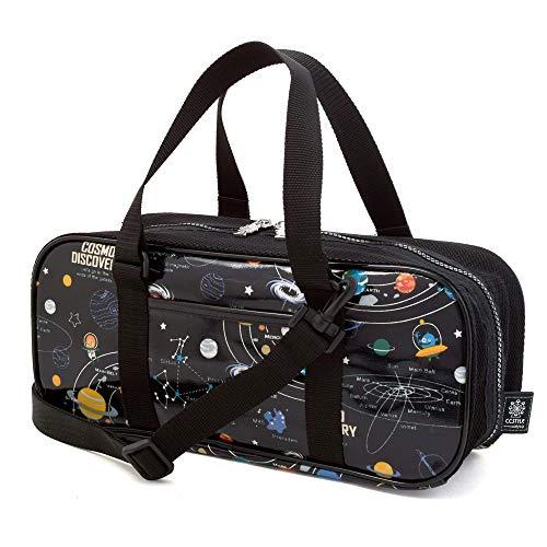 絵の具セット おけいこかばん 太陽系惑星とコスモプラネタリウム(ブラック) N2114310