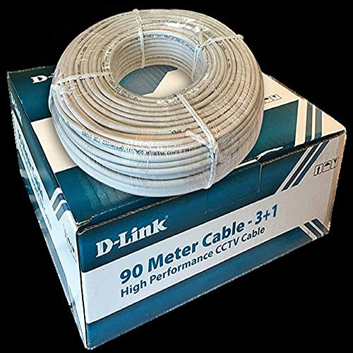 DLINK High Performance CCTV 3+1 Cable