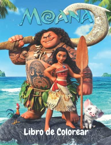 Moanà Libro de colorear: Increíbles páginas para colorear Moanà para que los niños se relajen y se diviertan, ¡una gran idea de regalo para los fanáticos de Moanà!