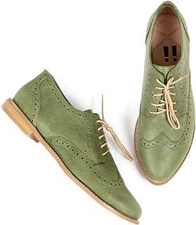 FELICIFIC Zapato para Mujer Diana Color Verde