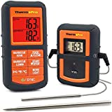 ThermoPro TP08S Wireless Digital Meat Thermometer for Grilling Smoker BBQ Grill Oven Thermometer with Dual Probe Kitchen Cooking Food Thermometer