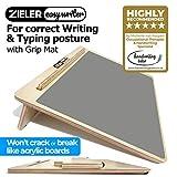 Ergonomische A3-Schreibpult mit Griffmatte für bessere Schreibhaltung und Komfort -