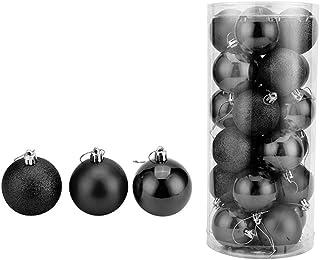 Black Christmas Balls.Amazon Com Black Christmas Balls Home Kitchen