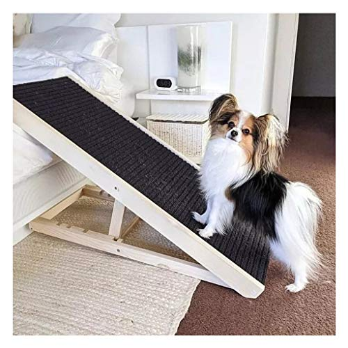 The Best Dog Ramp - Non-Slip Pet Ramp for Small Medium Large Dogs and Cats, Portable Step Ladders Pet Ramp for Vehicle Back Door Home Couch