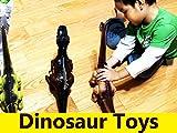 T-Rex and Brachiosaurus Dinosaurs