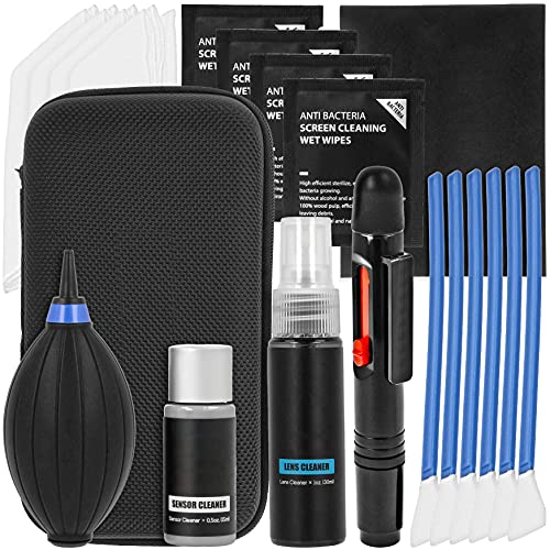 VSGO APS-C DKL-20 - Kit de limpieza para cámara y sensor (20 piezas, envasado al vacío)