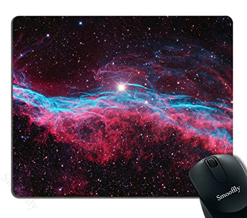Smooffly Gaming Mouse Pad Custom,Nebula Mouse pad Outer Space Infinity Galaxy Universe Milky Way Starry Stars Orbit Astronomy Cosmos Cosmic Background Realistic