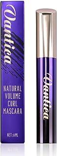 Vantica Mascara Black Volume and Length 4D Silk Fiber Longer Thicker Long Eyelashes Voluminous Liquid Lash Extensions Masc...