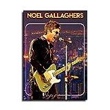 Noel Gallaghers Oasis Leinwand-Kunst-Poster und