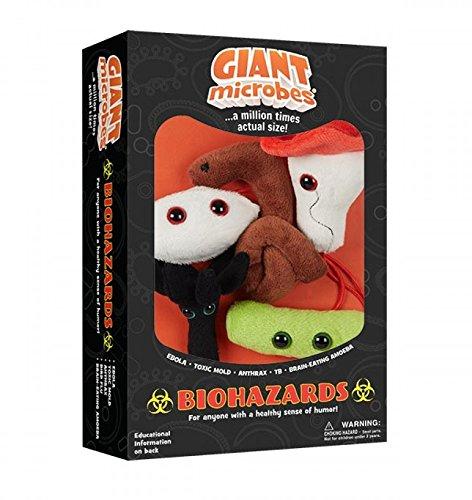 GIANT MICROBES Giantmicrobes Themed Gift Boxes - Biohazards