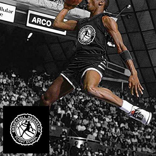 YANJJJ Personalidad NBA Baloncesto Uniforme Traje De Entrenamiento Deportivo Chaleco Jersey D-3XL(175-180cm)