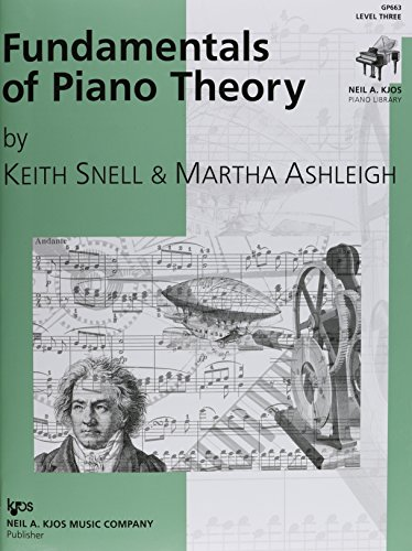 GP663 - Fundamentals of Piano Theory - Level 3