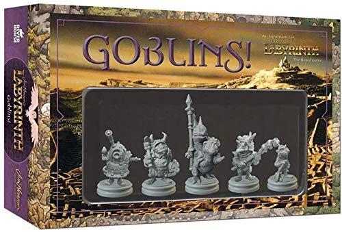 Dentro del Laberinto - Pack de Expansión para Juego Goblins, Versión Inglesa