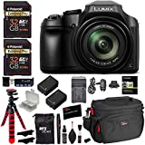 Panasonic Lumix DC-FZ80 Digital Camera, 32GB SDHC Memory Card, 2 Spare Batteries, DSLR Camera Bag, Ritz Gear...