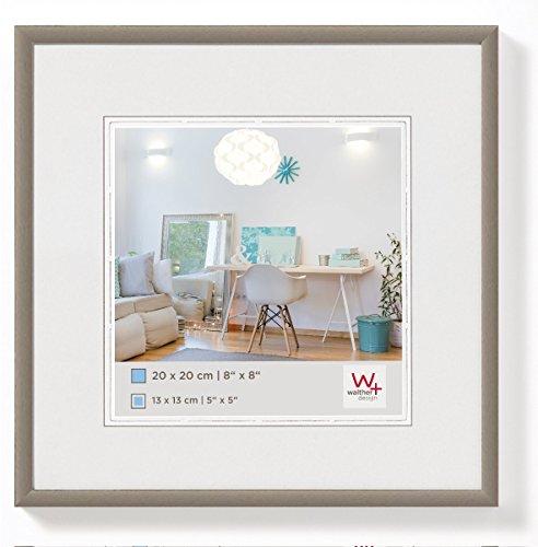 walther design KV330D New Lifestyle Kunststoffrahmen, 1 (30 x 30 cm), stahl