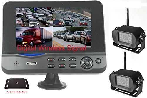 4Ucam Two Digital Wireless Camera + 7' Monitor...