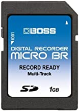 1GB Boss Roland SD Memory Card for Micro BR, Micro BR-80, BR-800 and more