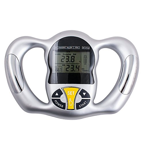 Luxtech Körperfett BMI Überwachung - Handprüfvorrichtung-Rechner-Digital-Körperfett-Analysator-fette Körper-Zusammensetzung überwacht Gesundheit und Körperdiät